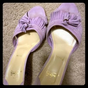 Pre loved Summer CL Lilac Sandals 40.5